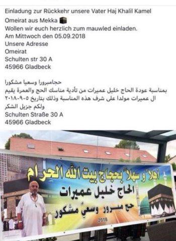 Hejj khalil Amirat war in Mekka