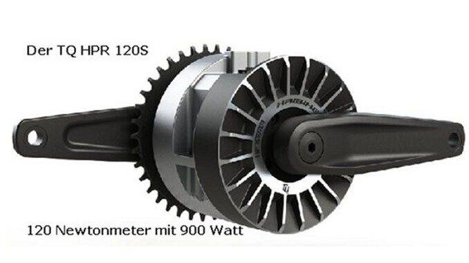 TQ Motor HPR 120S für eMTB