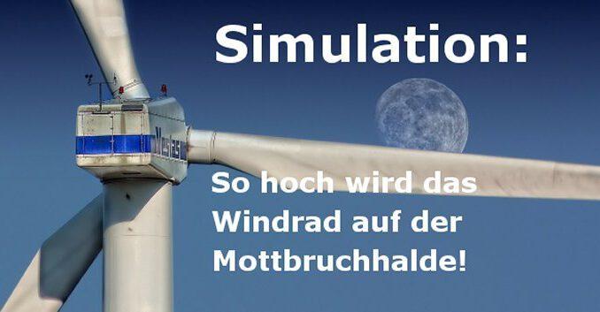 Simulation des Windrades