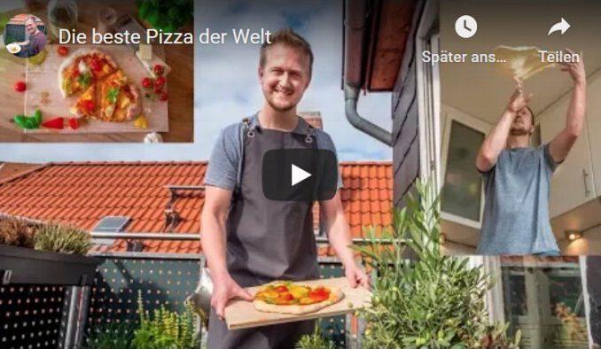 Pizza aus der Sterneküche