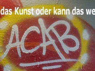 Graffiti im Schürenkamptunnel