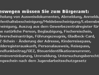 """Gladbeck: Was geht da ab im Bürgeramt Seit Jahren enttäuscht der """"Service"""" des Bürgeramtes eine Menge Bürger."""