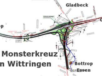 Das Monster - Autobahnkreuz für Gladbeck