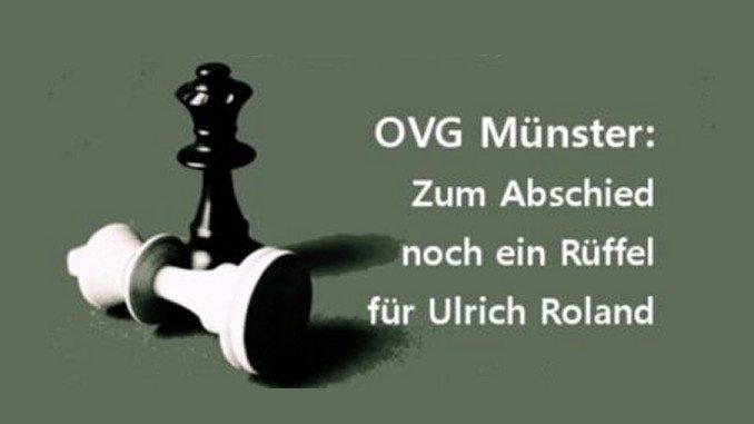 Ein Rüffel für Roland: Oberverwaltungsgericht: Platzvergabe bei der Ratssitzung 2015 verstieß gegen Sitzungsöffentlichkeit
