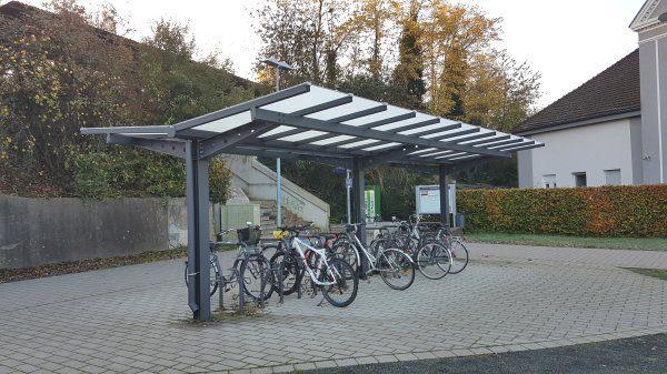 Fahrradständer in Hervst-Dorsten