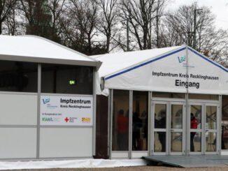 Impfzentrum ist betriebsbereit