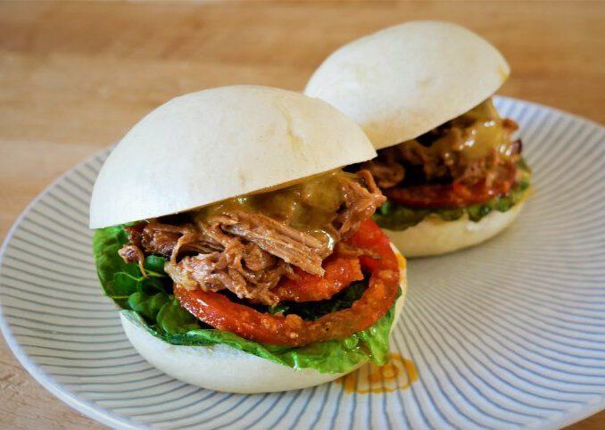 Pulled Pork Burger von David Manthey
