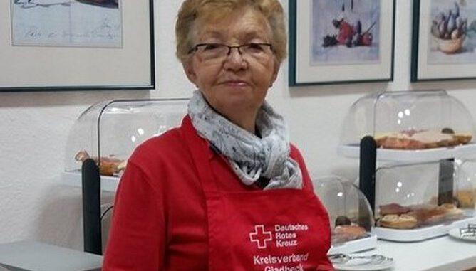 Die langjährige DRK-Helferin Irmgard Bellingröhr.