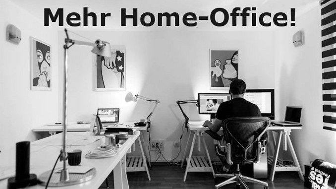 Gladbeck: Mehr Home-Office!