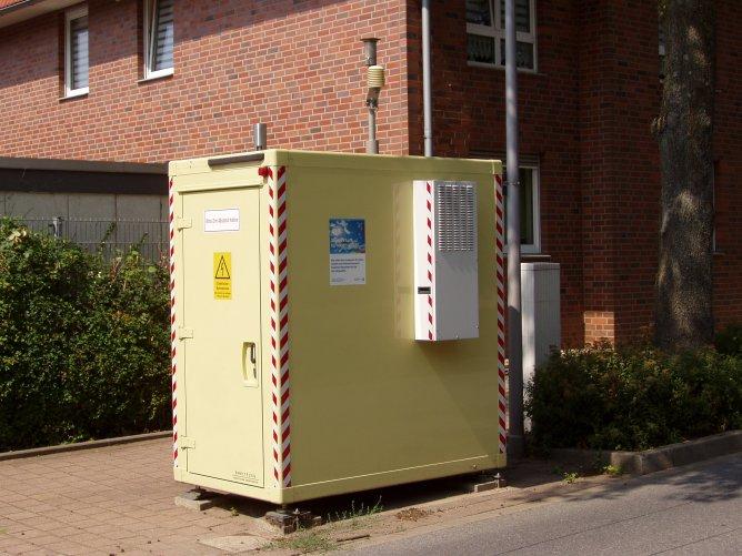 Messstation kommt weg - LANUV baut umstrittenen Messcontainer an der Goethestraße ab