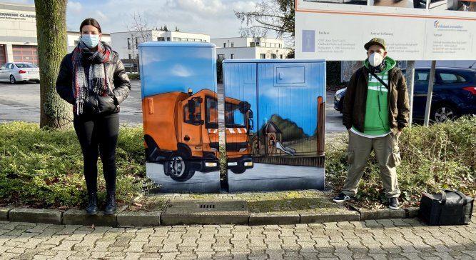 Gladbeck: Ampelkästen werden schöner