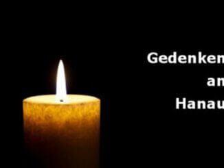 Gedenken an Hanau