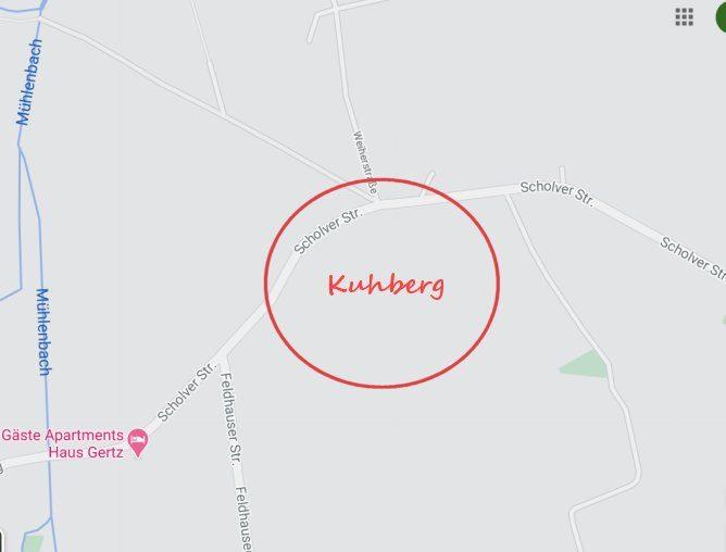 Rodeln auf dem Kuhberg im Norden Gladbecks