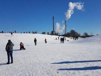 Gladbeck: Rodeln am Kuhberg