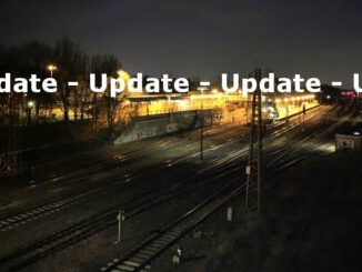 Update - Unfall Güterzug Bahnhof-West