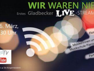 Erstes Gladbecker Streaming-Konzert