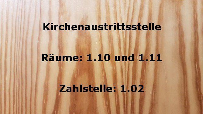 Kirchenaustrittsstelle beim Amtsgericht Gladbeck
