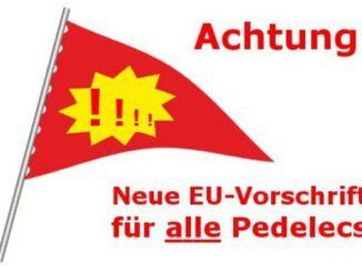 Wimpel für eBikes: EU dreht jetzt durch