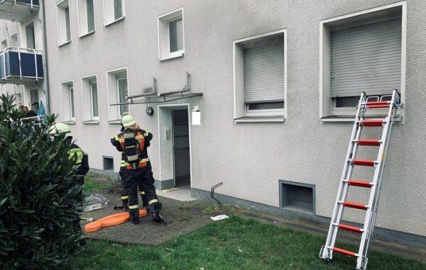 Wohnungsbrand in einem Sechsfamilienhaus