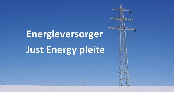 Just Energy liefert nicht mehr