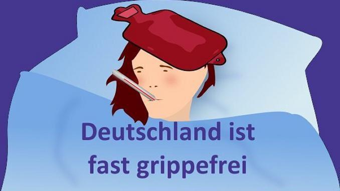 Deutschland ist fast grippefrei