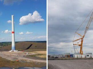Gladbeck: Windradbaustelle liegt still