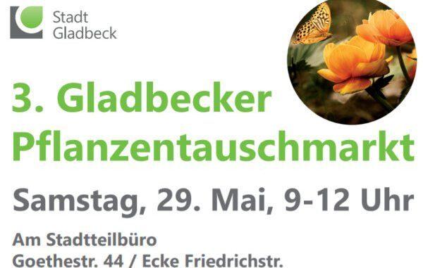Pflanzentauschmarkt in Gladbeck