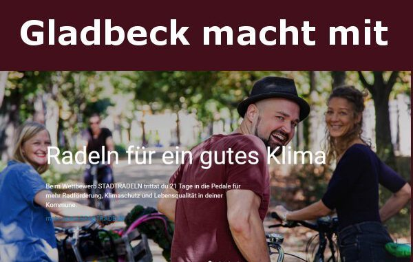 Gladbeck: Radfahr-Wettbewerb für ein besseres Klima