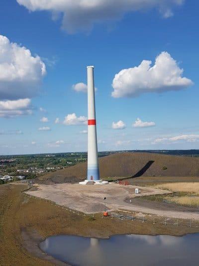 Windradturm auf der Mottbruchhalde
