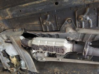 Autoknacker wollen Katalysatoren