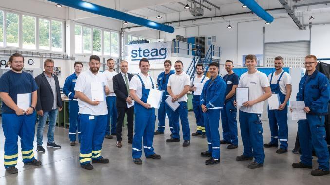 STEAG-Azubis zeigen starke Leistung