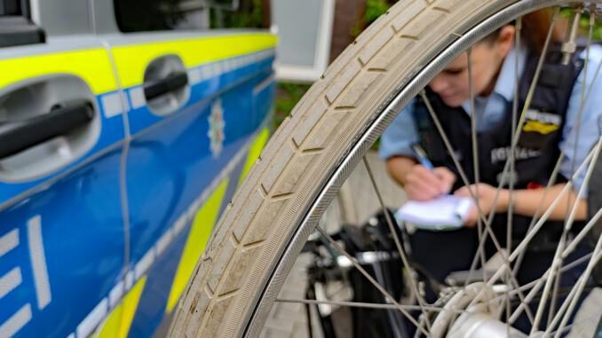 Schwerpunktaktion der Polizei - Radfahrer im Fokus