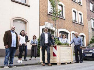 Gladbeck Goes Green: Mobile Bäume kommen auf die Friedenstraße