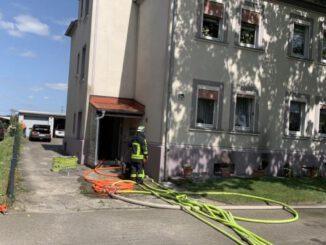 Kellerbrand in Butendorf - Mehrfamilienhaus brannte