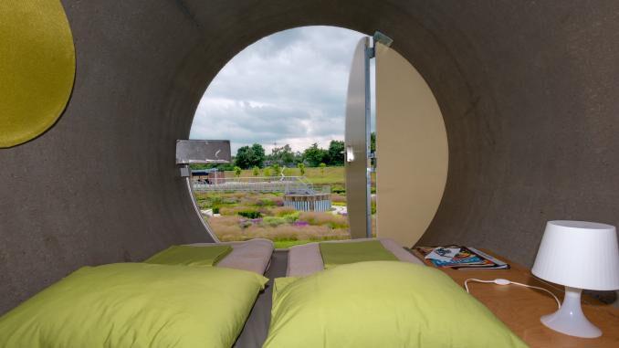 Röhrenhotel im Berne-Park in Bottrop wieder geöffnet