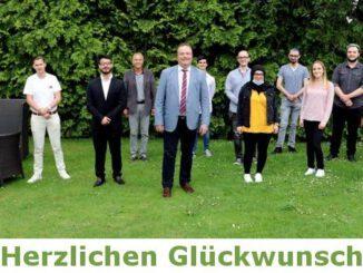 Berufskolleg: Glückwünsche für die besten Abiturienten 2021