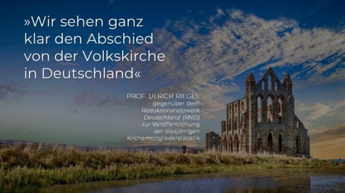 Abschied von der Volkskirche - Deutschland wird weltlich