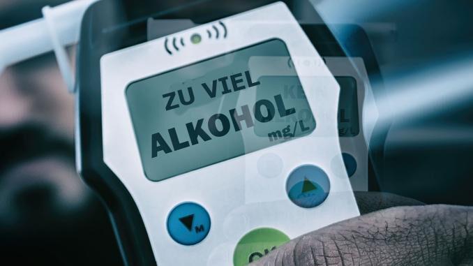Betrunkene 68jährige Frau verursacht Unfall
