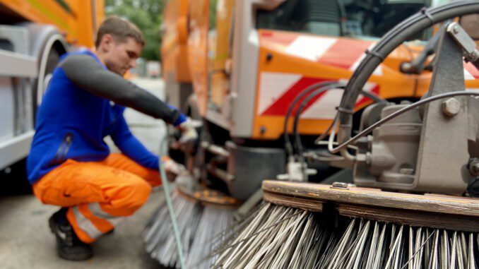 Stadtreinigung wird in Gladbeck umweltfreundlicher