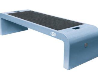Smarte Solarbank mit Hotspot für den Jovyplatz in Gladbeck