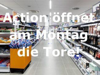 Action eröffnet Filiale in Gladbeck am Montag