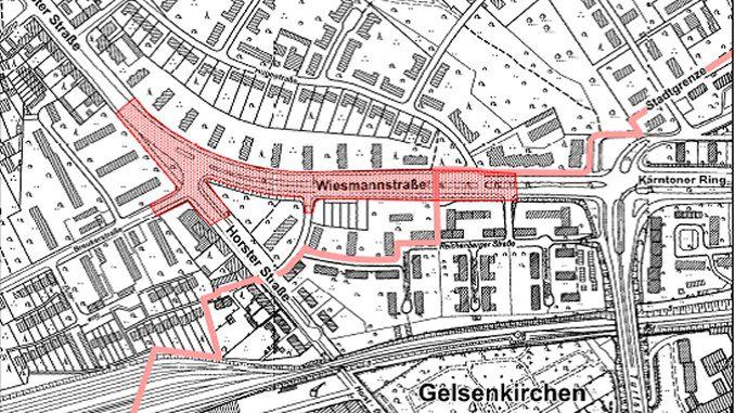 Umbau der Wiesmannstraße -Ratzeputz die Bäume weg um durchzustarten