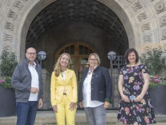 Gelebte Partnerschaft: Arbeitsgespräch mit Schwechat in Gladbeck
