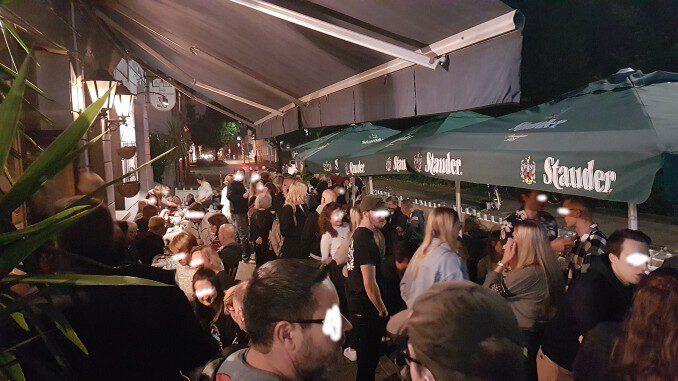 Goethe Cafè wieder eröffnet - die erste Sause war grandios