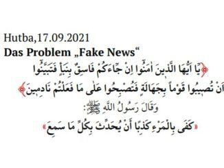 Die Islamische Gemeinschaft Milli Görüs (IGMG) zu Fake-News