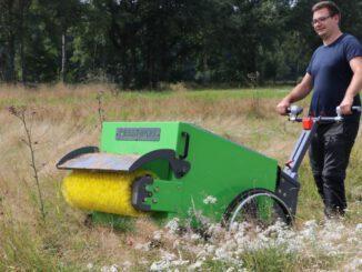 Saatgut-Sammelmaschine wurde vom Kreis RE angeschafft