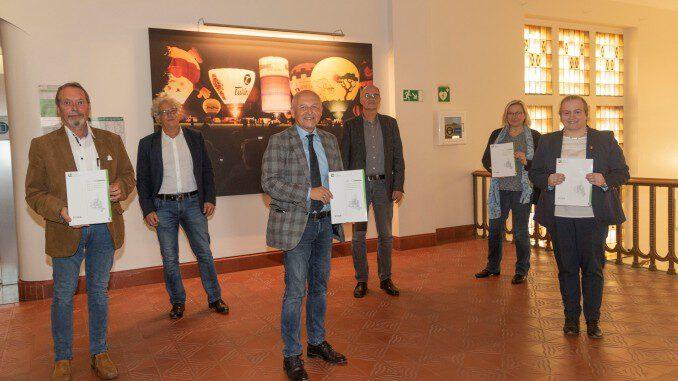 Der Seniorenbericht der STadt Gladbeck wurde im Rathaus vorgestellt.