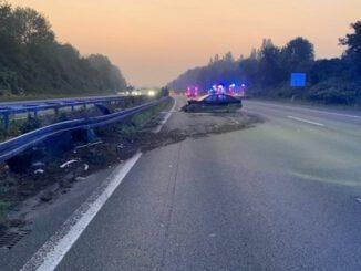 Verkehrsunfall auf der BAB Gladbeck - Hannover