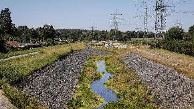 Abwasserkanal Emscher: Größter Nebenfluss nun angeschlossen