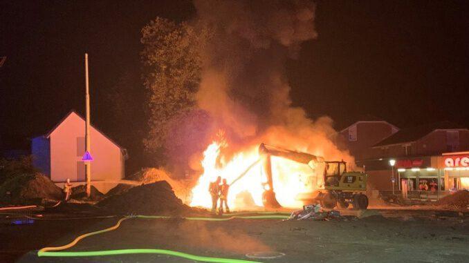 Brände halten Gladbecker Feuerwehr in Atem
